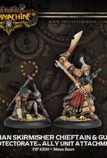 Warmachine Protectorate - Idrian Chieftain & guide
