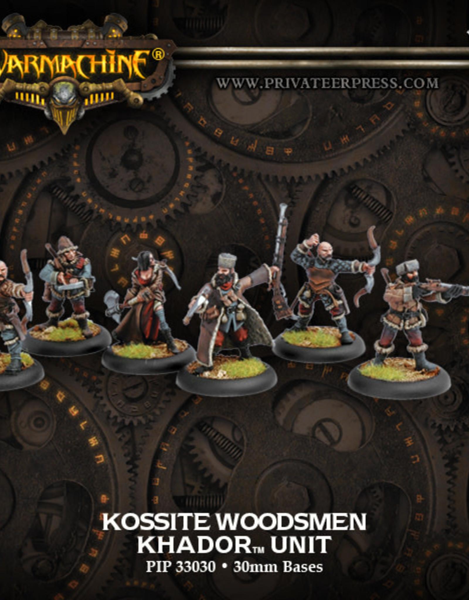 Warmachine Khador - Kossite Woodsmen