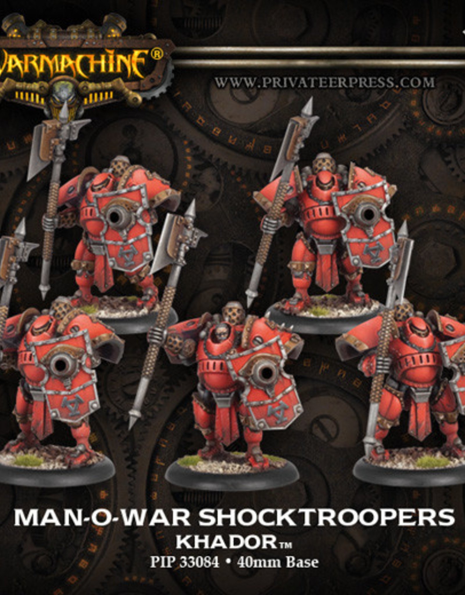 Warmachine Khador - MoW Shocktroopers