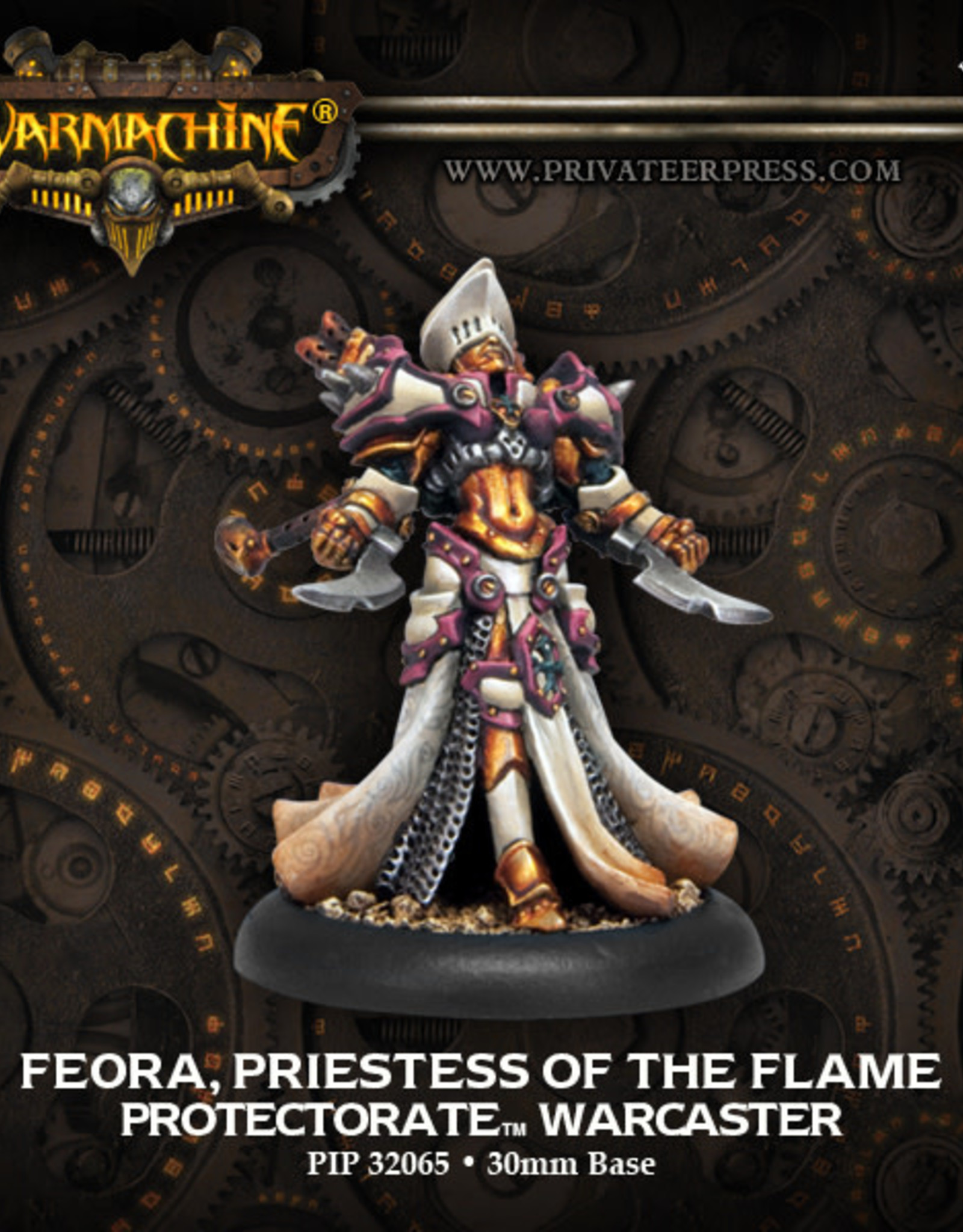Warmachine Protectorate - Feora