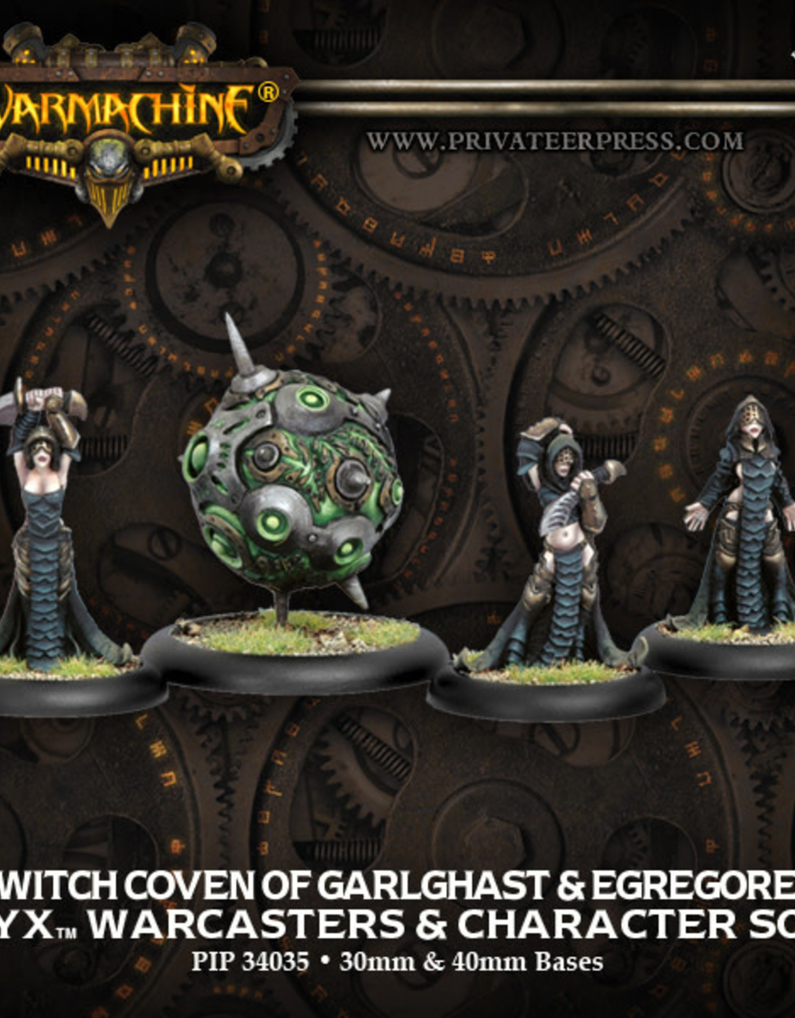 Warmachine Cryx - Witch Coven