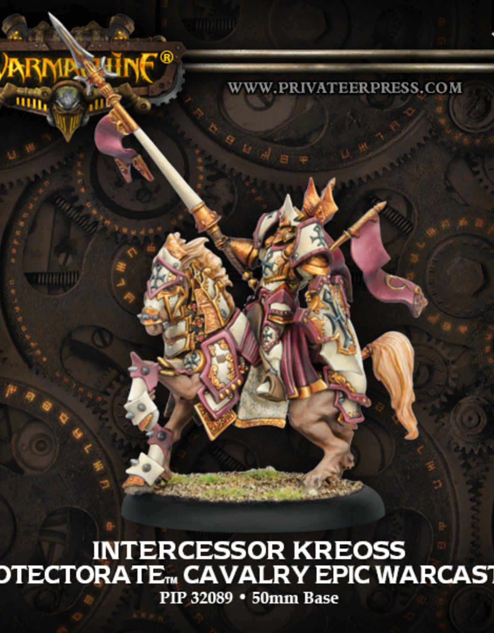 Warmachine Protectorate - Intercessor Kreoss