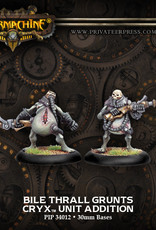 Warmachine Cryx - Bile Thrall Troopers blister (2)