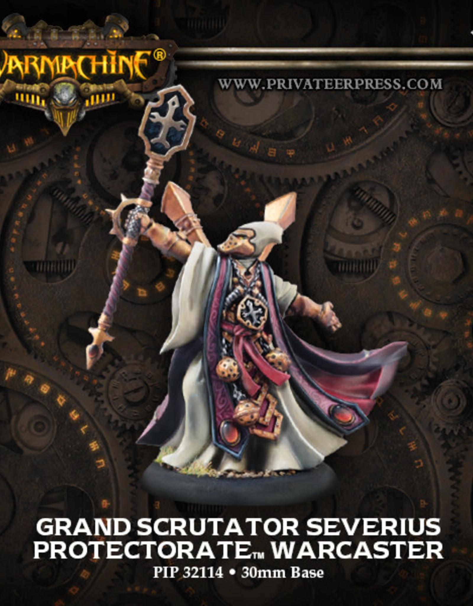 Warmachine Protectorate - Grand Scrutator Severius