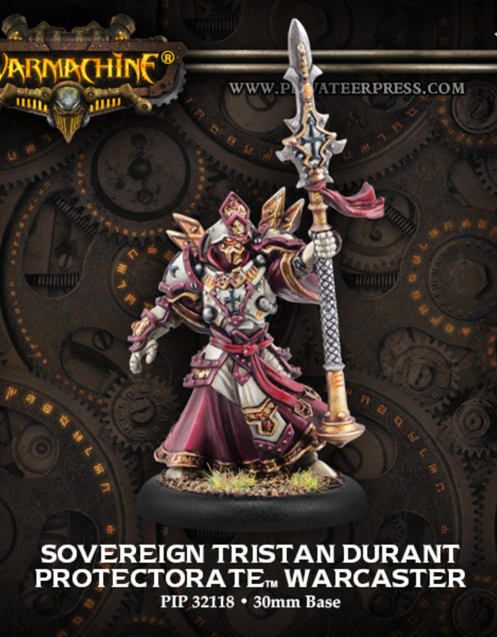 Warmachine Protectorate - Sovereign Tristan Durant