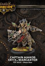 Warmachine Cryx - Captain Aiakos