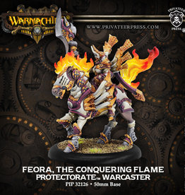 Warmachine Protectorate - Feora The Conquering Flame