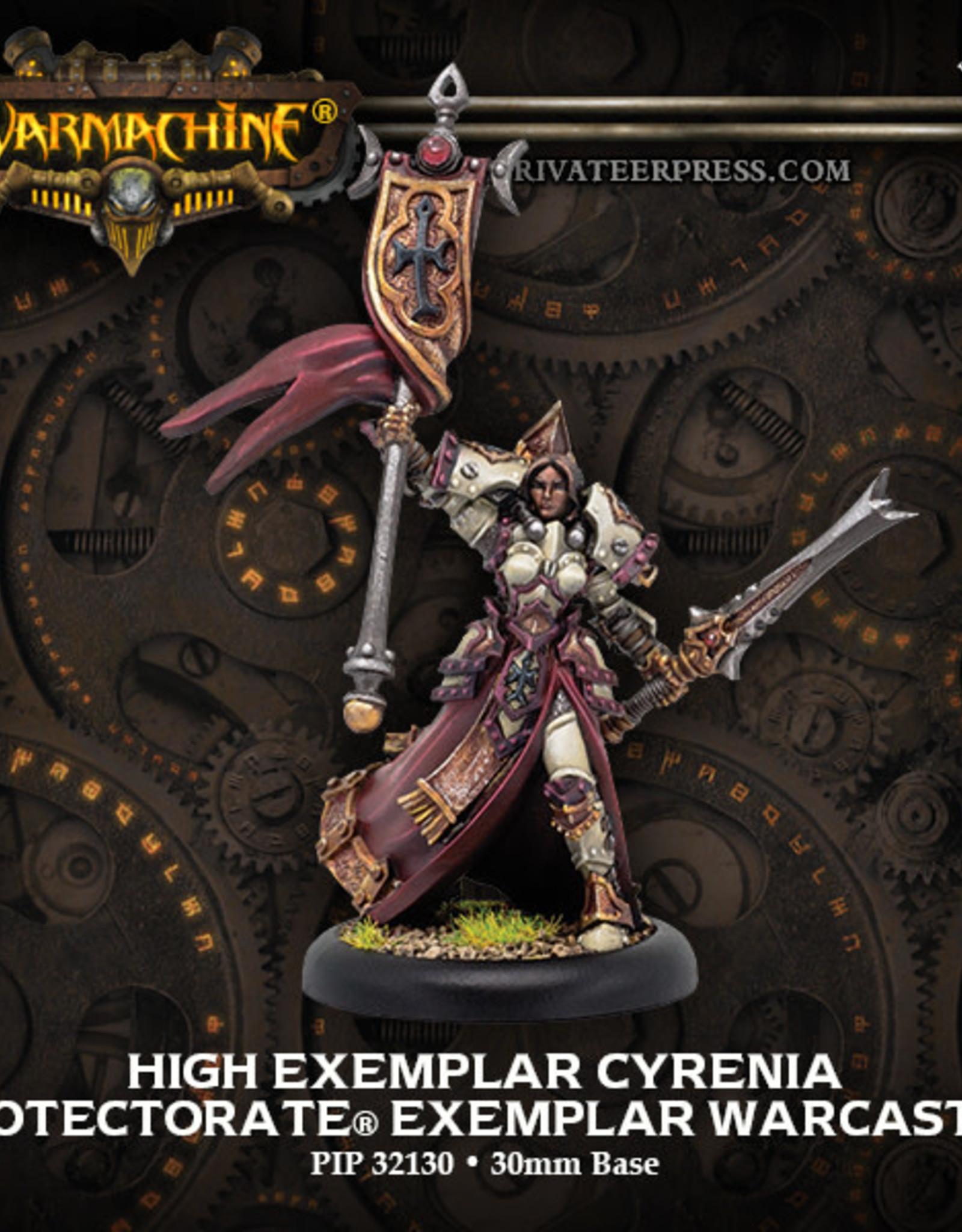 Warmachine Protectorate - High Exemplar Cyrenia