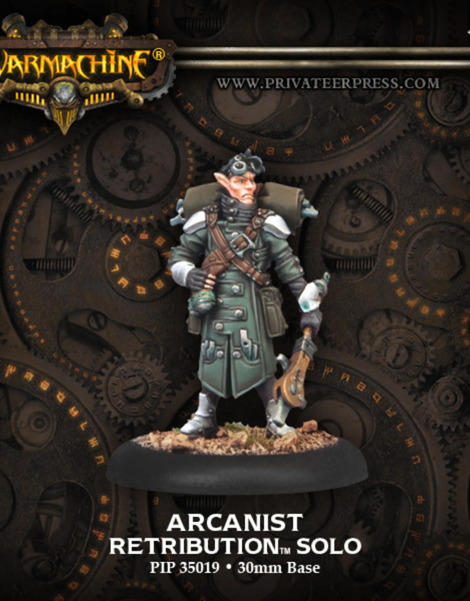 Warmachine Scyrah - Arcanist