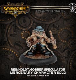 Warmachine Mercenaries - Reinholt