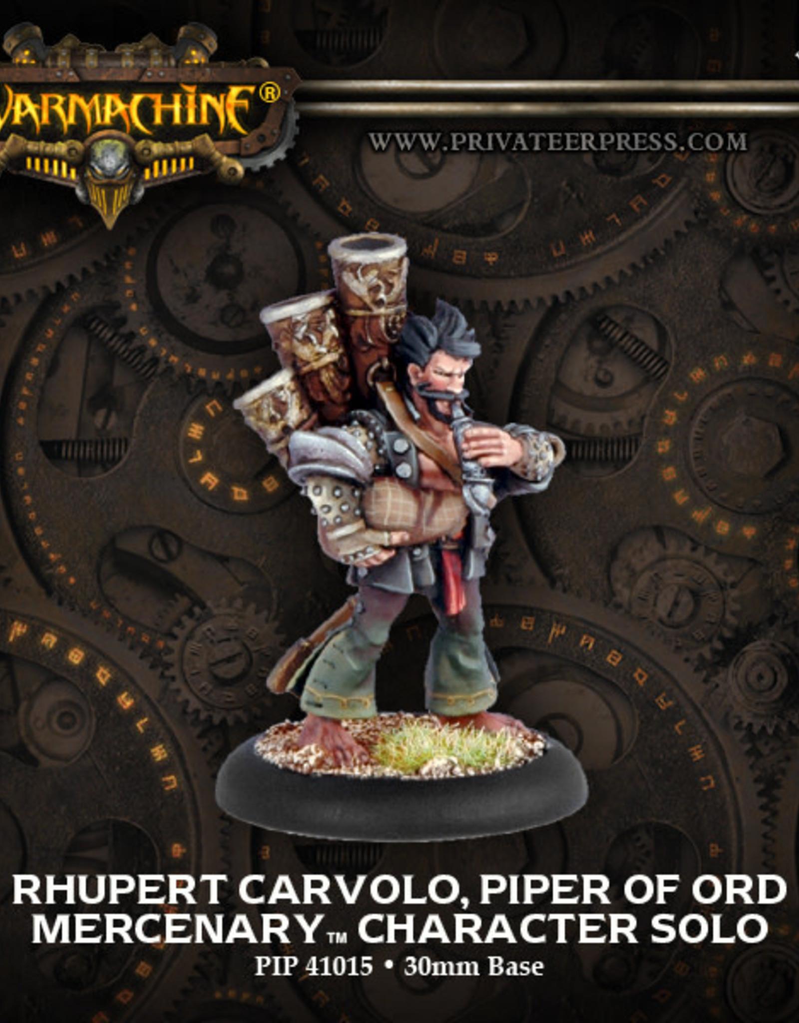 Warmachine Mercenaries - Rhupert Carvolo