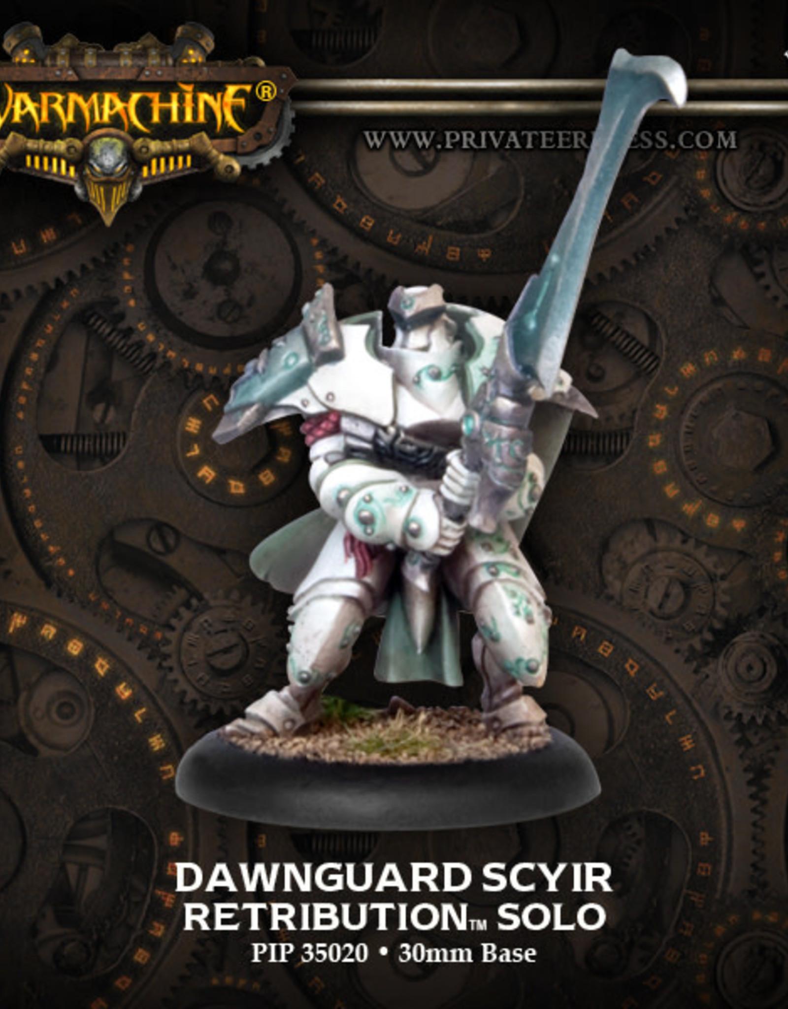 Warmachine Scyrah - Dawnguard Scyir