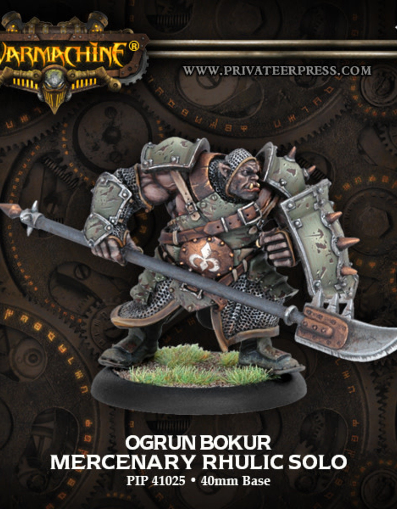 Warmachine Mercenaries - Ogrun Bokur