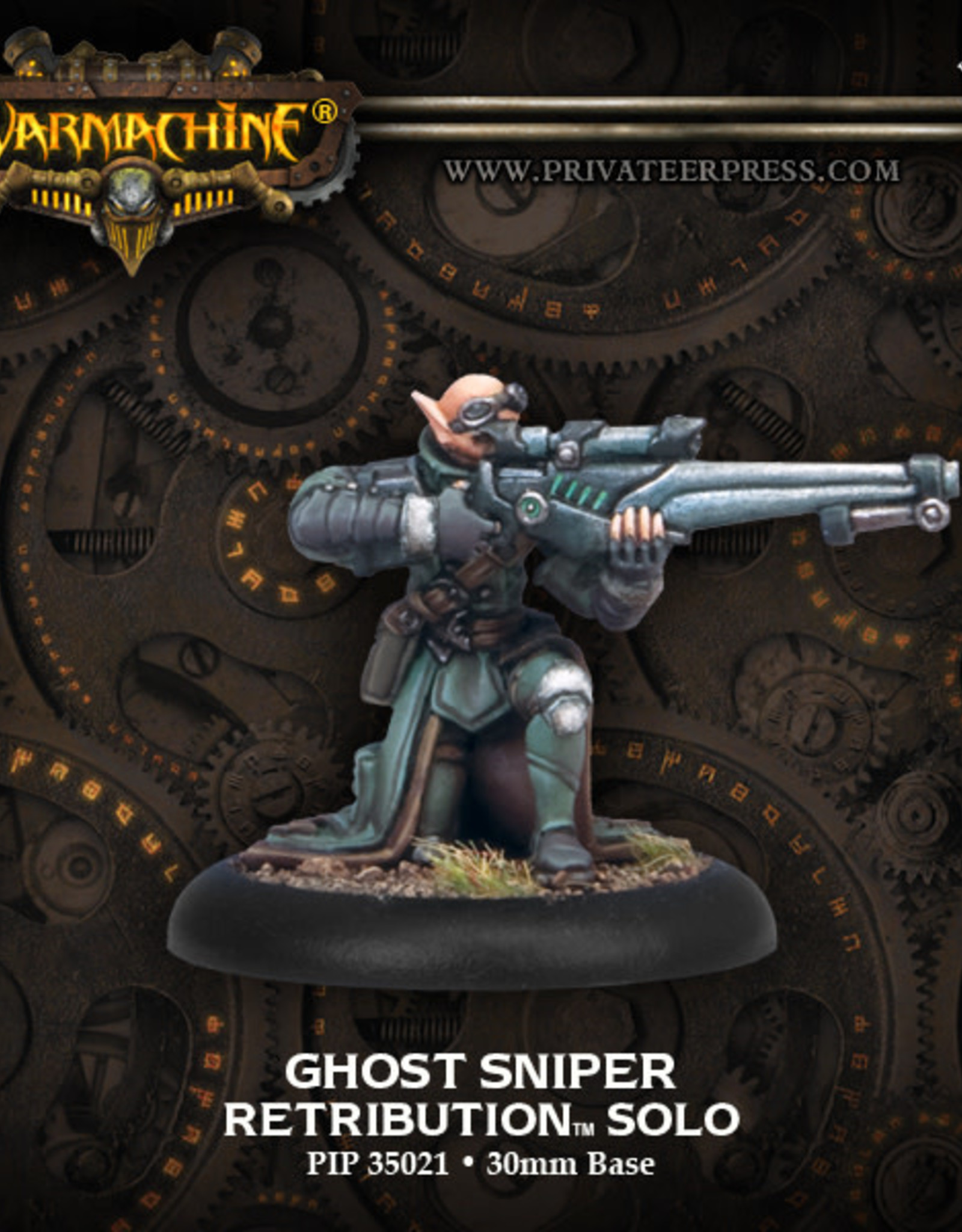 Warmachine Scyrah - Ghost Sniper