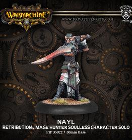 Warmachine Retribution of Scyrah - Nayl