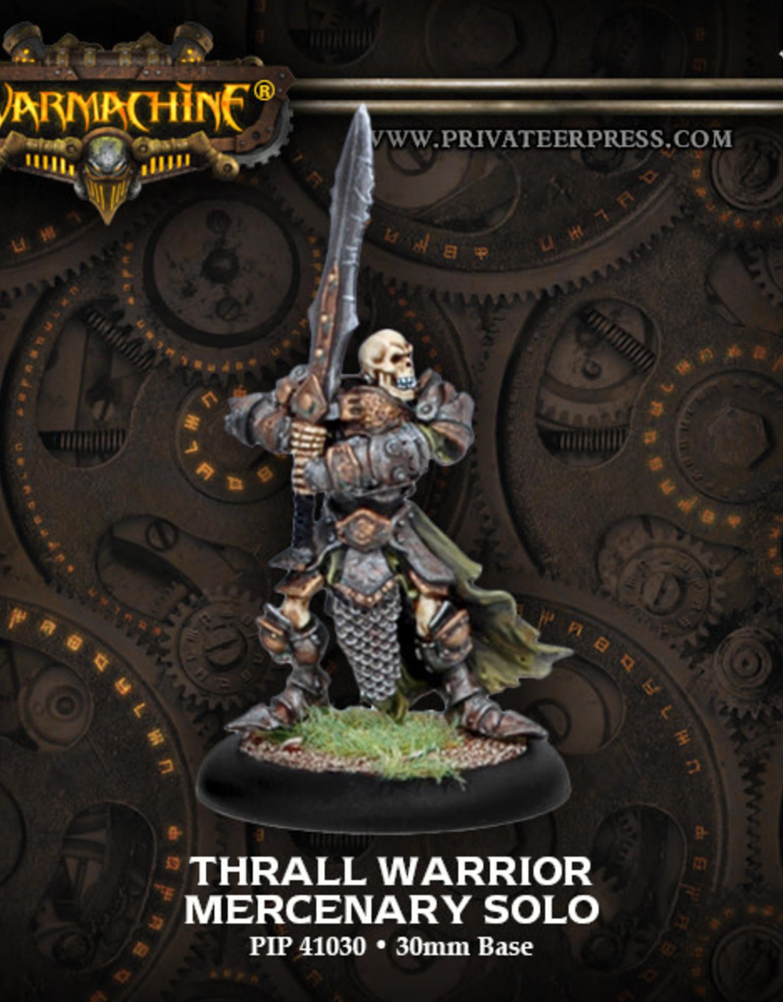 Warmachine Mercenaries - Thrall Warrior