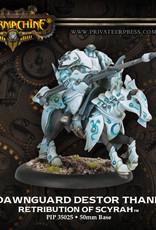 Warmachine Scyrah - Dawnguard Destor Thane