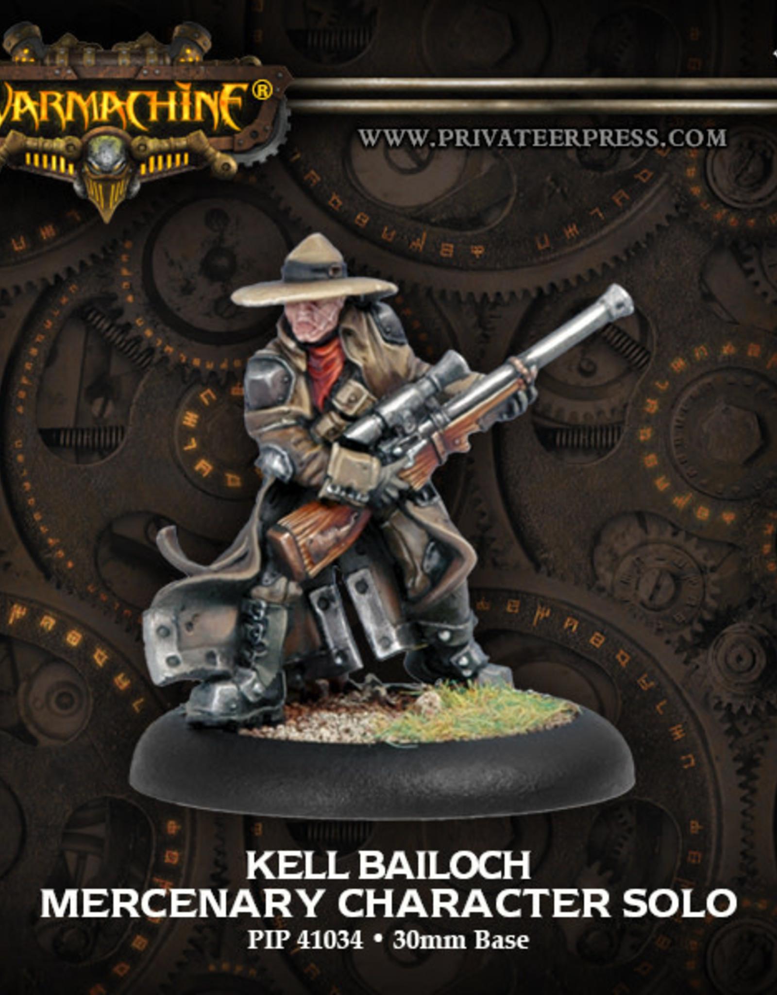 Warmachine Mercenaries - Kell Bailoch