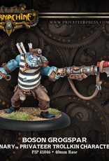 Warmachine Mercenaries - Bosun Grogspar