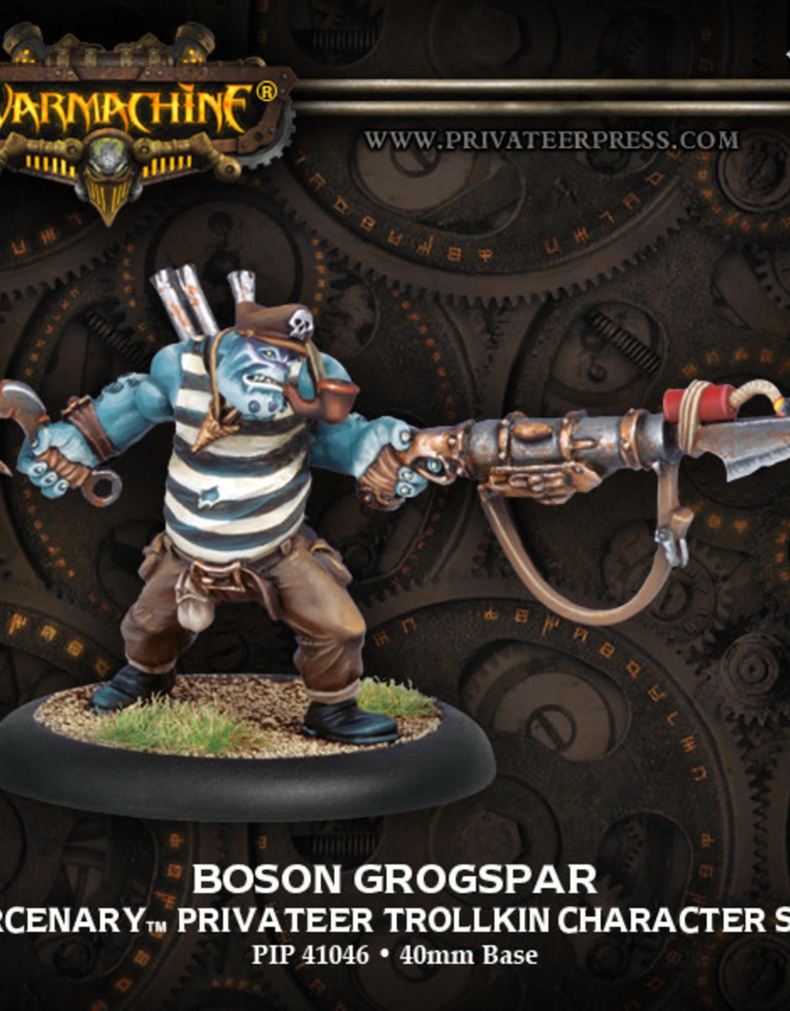 Warmachine Mercenaries - Bosun Grogspar