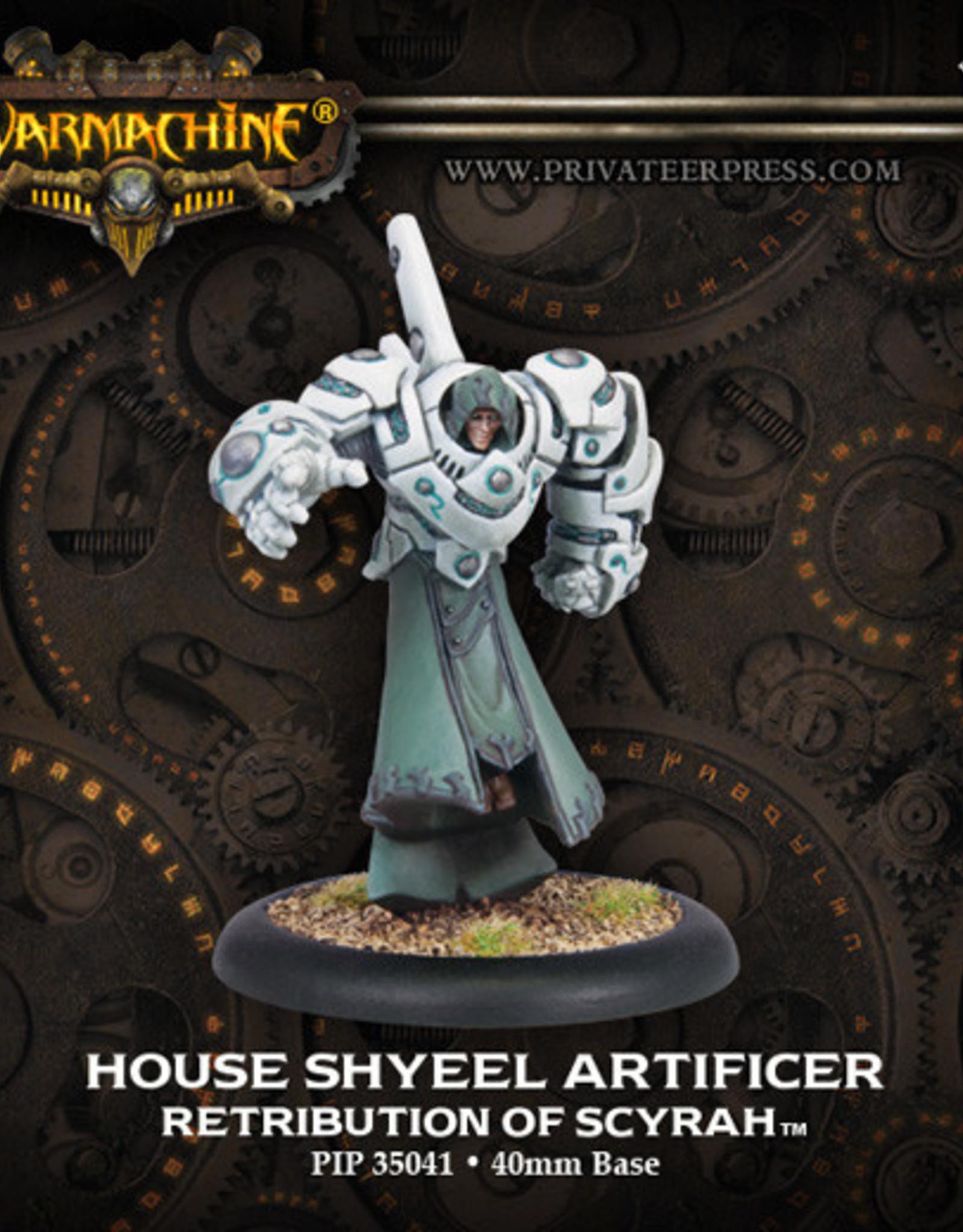 Warmachine Scyrah - Shyeel Artificer