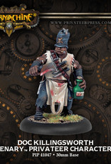 Warmachine Mercenaries - Doc Killingsworth
