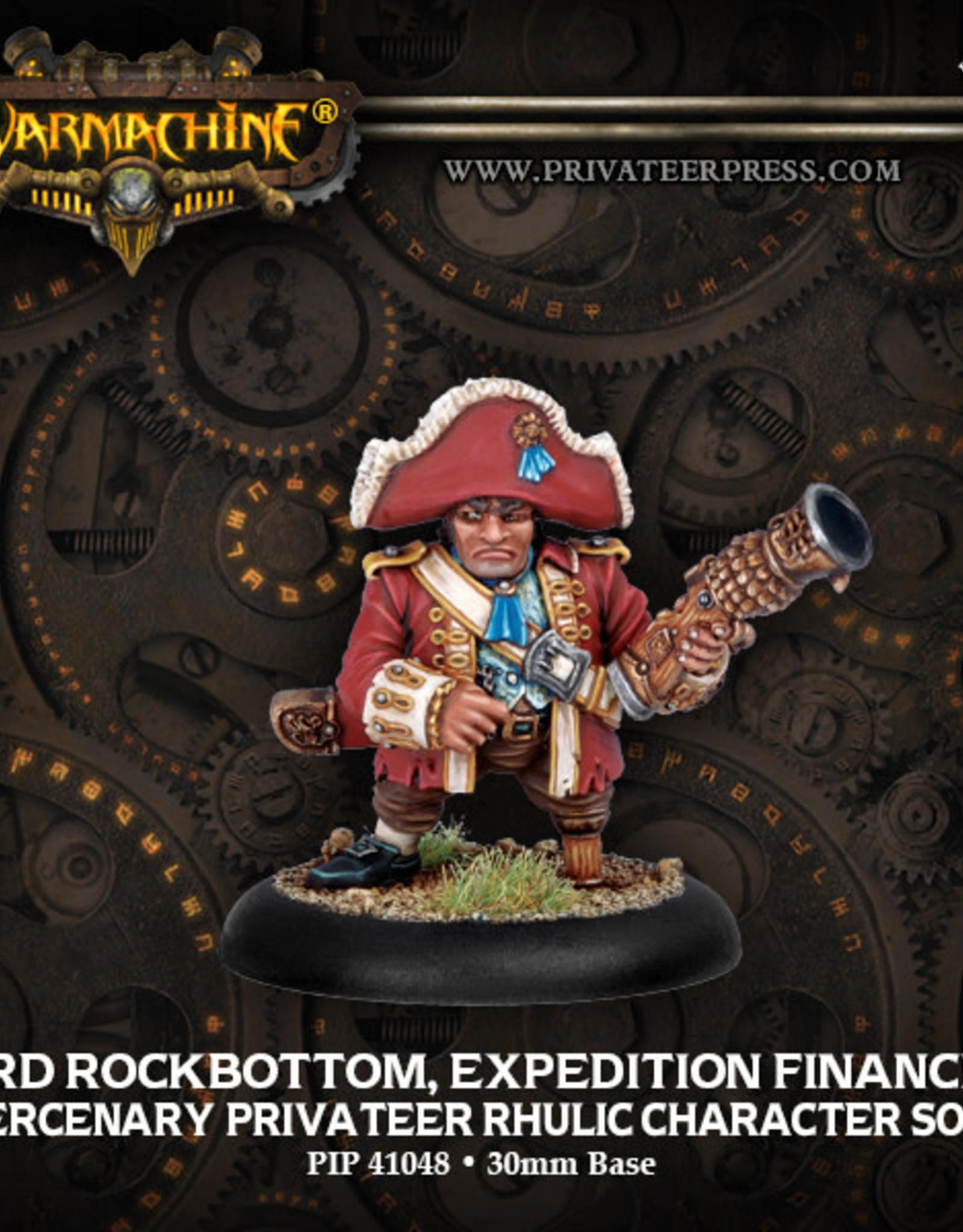 Warmachine Mercenaries - Lord Rock Bottom