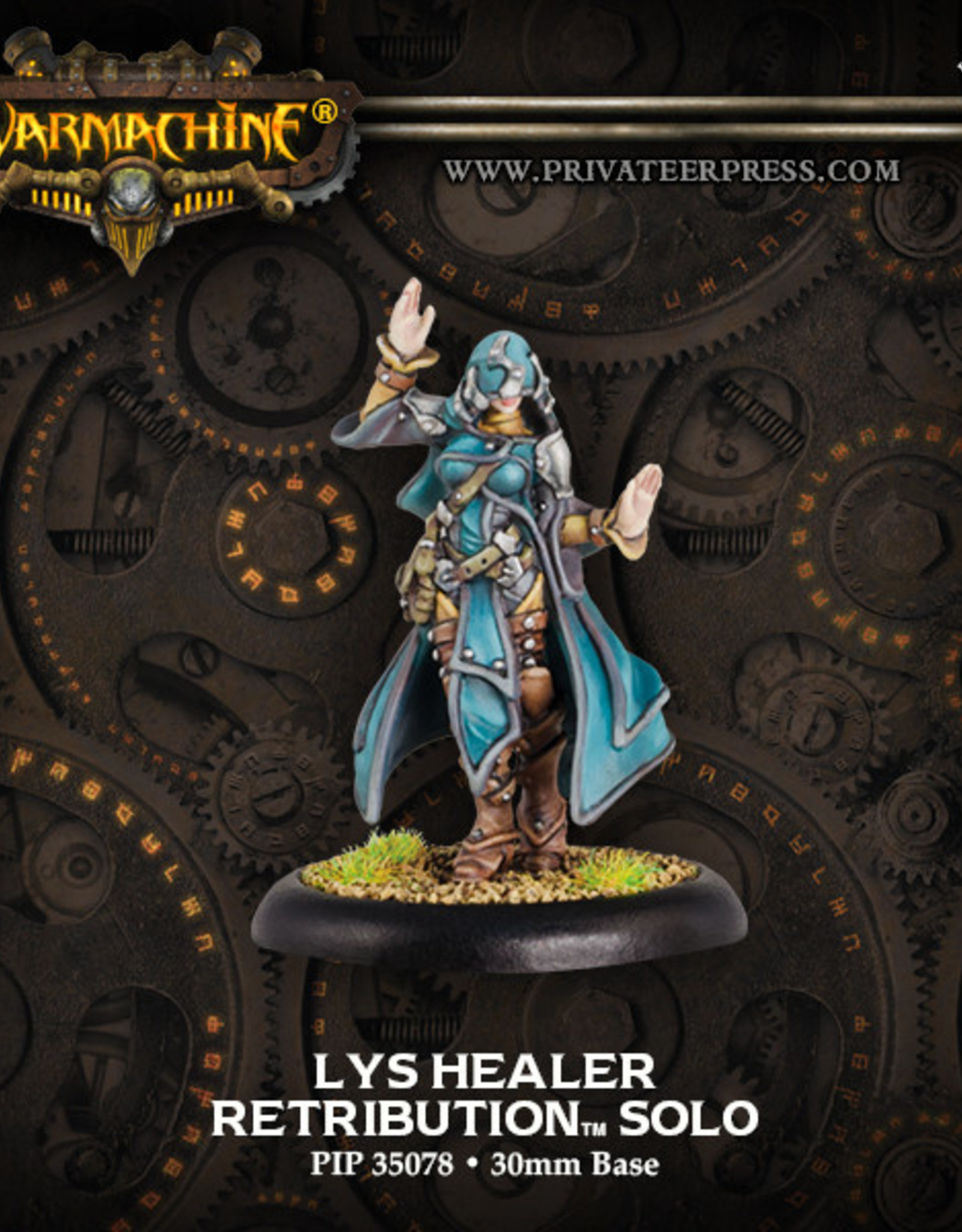 Warmachine Scyrah - Lys Healer