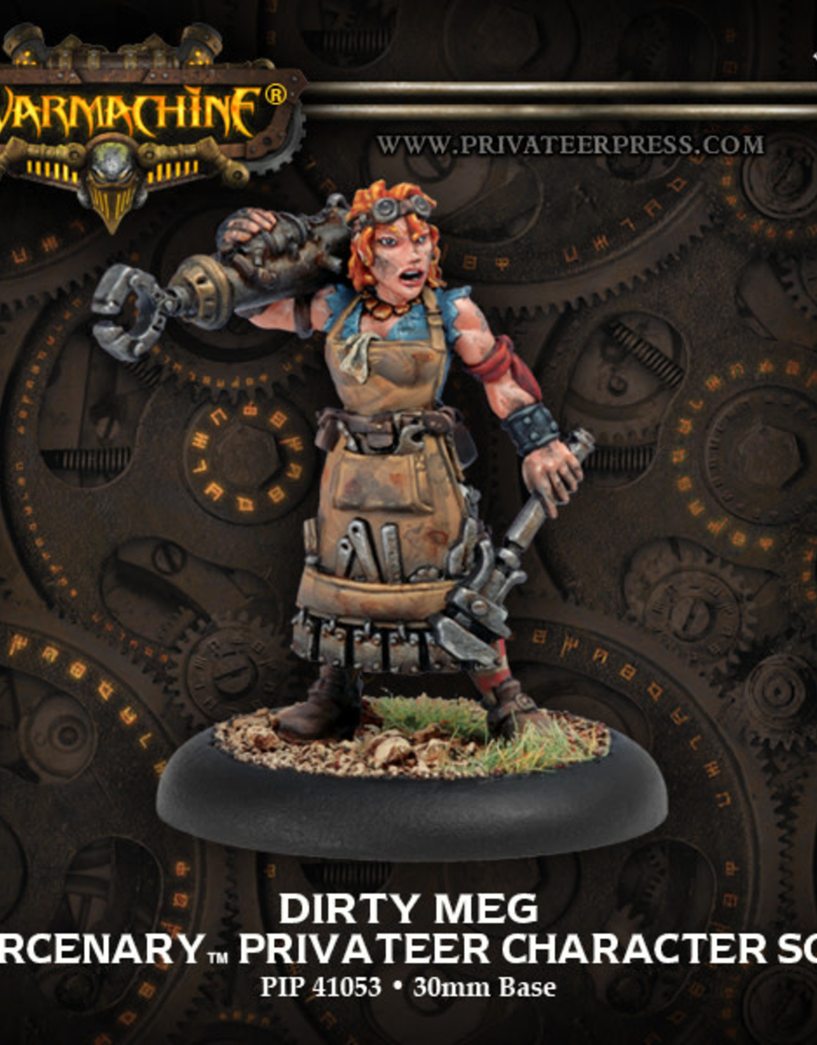 Warmachine Mercenaries - Dirty Meg