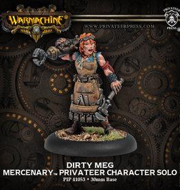 Warmachine Mercenaries - Dirty Meg