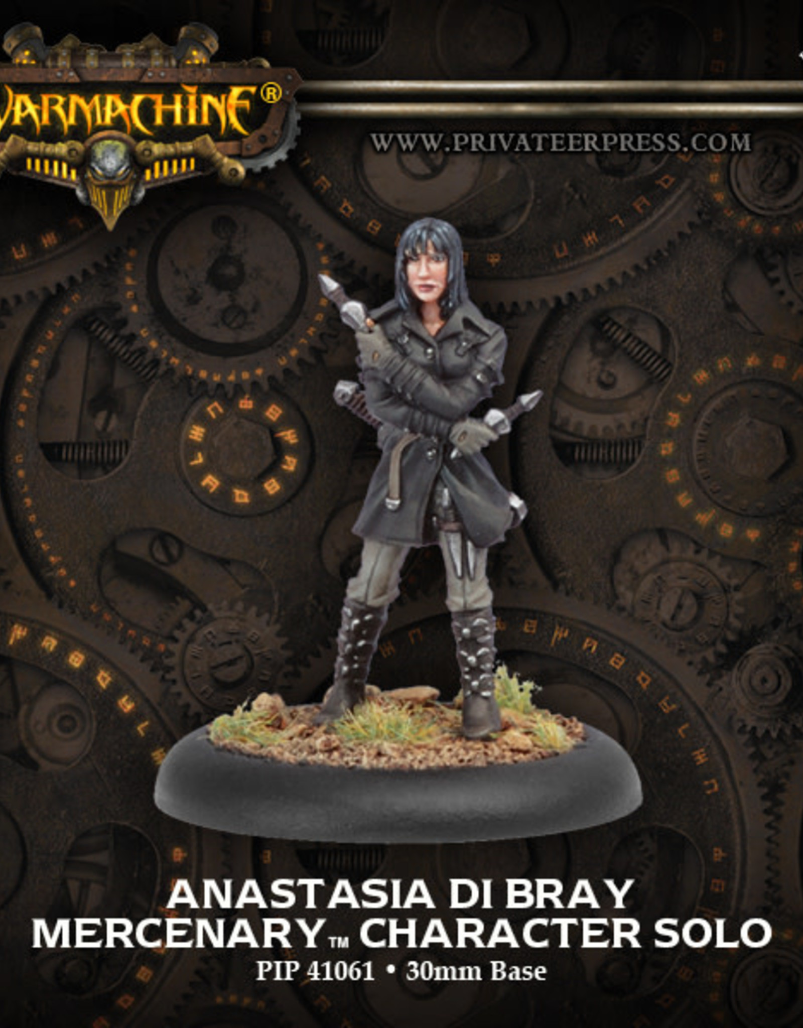 Warmachine Mercenaries - Anastasia di Bray
