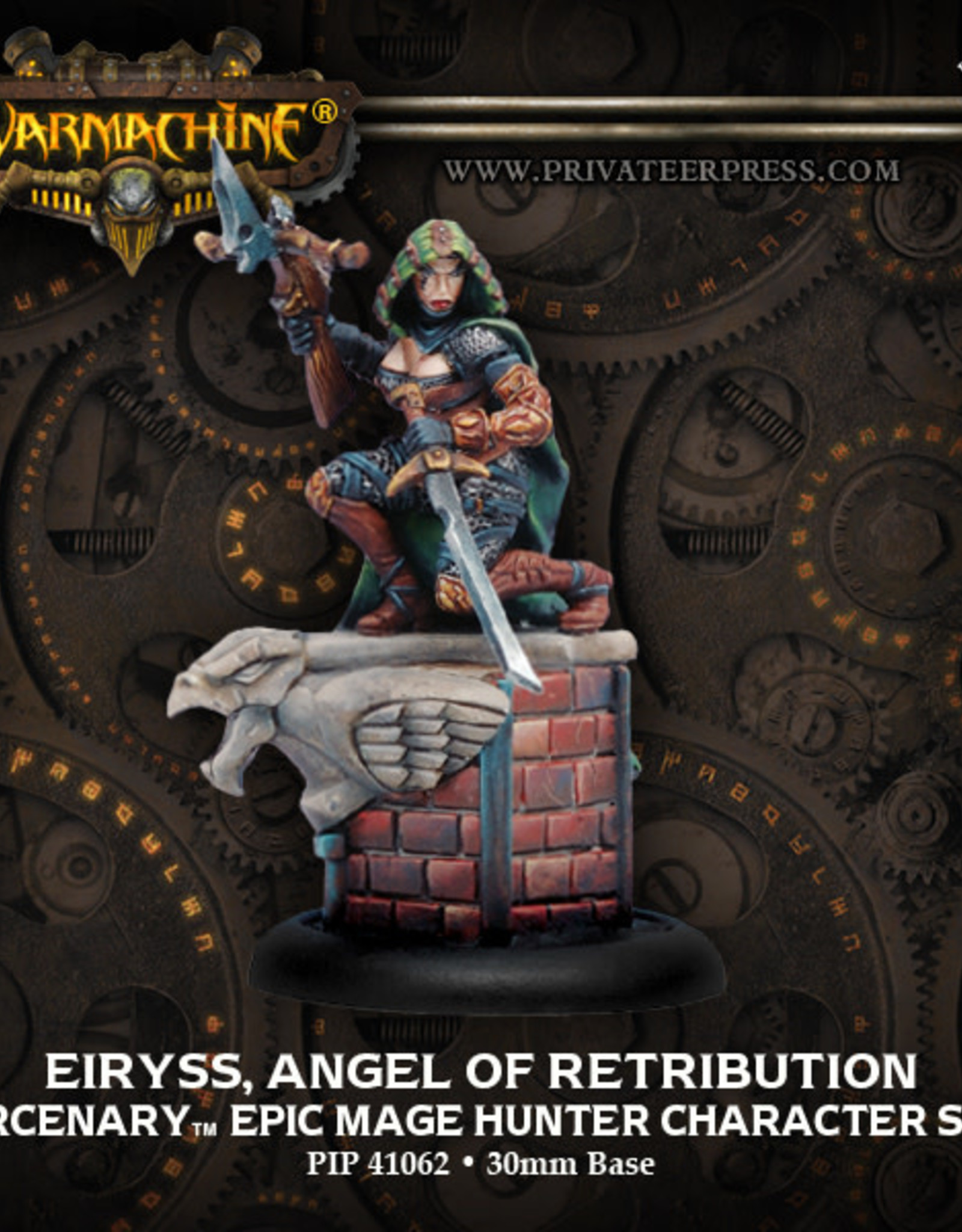 Warmachine Mercenaries - Eiryss, Angel