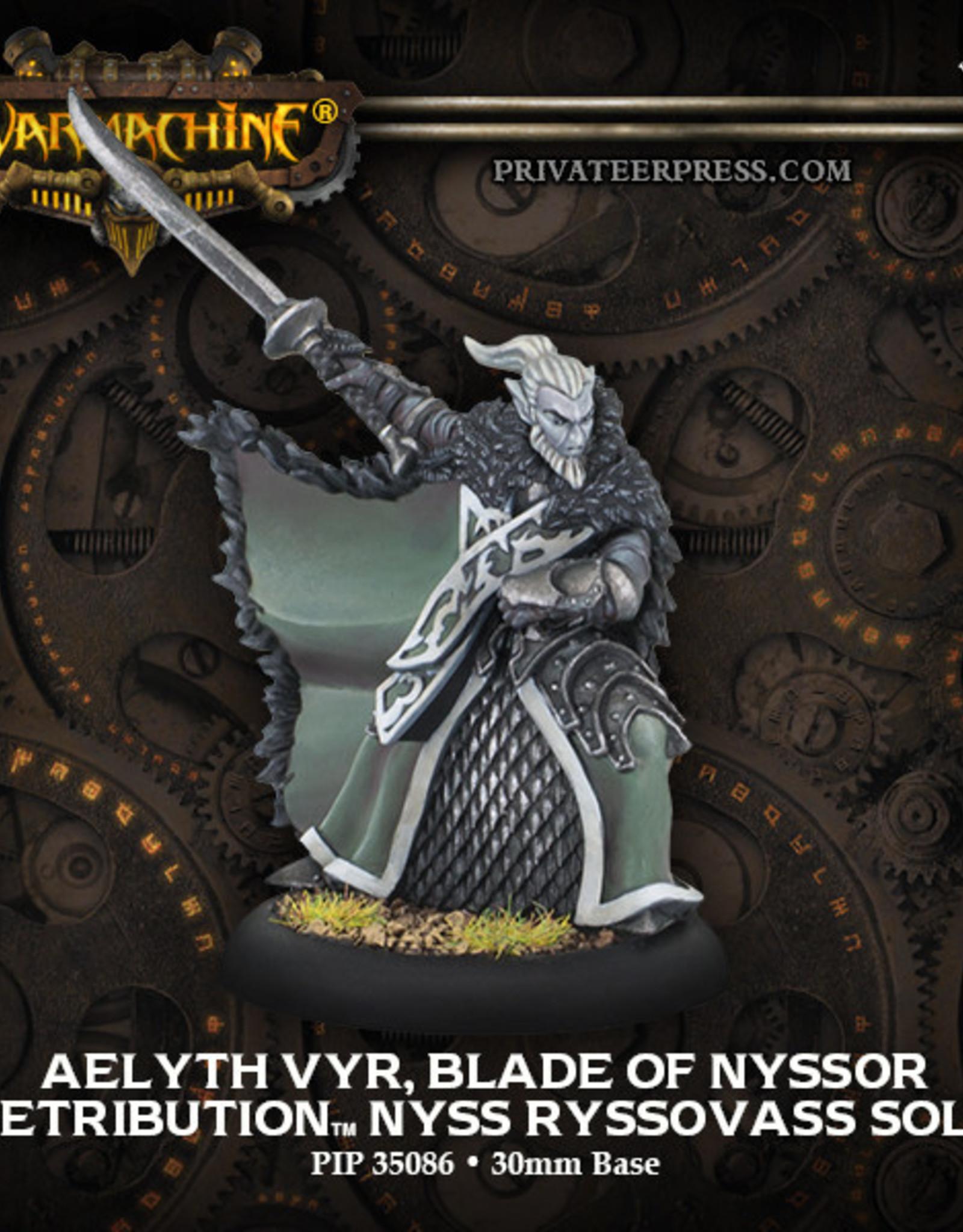 Warmachine Scyrah - Aelyth Vyr