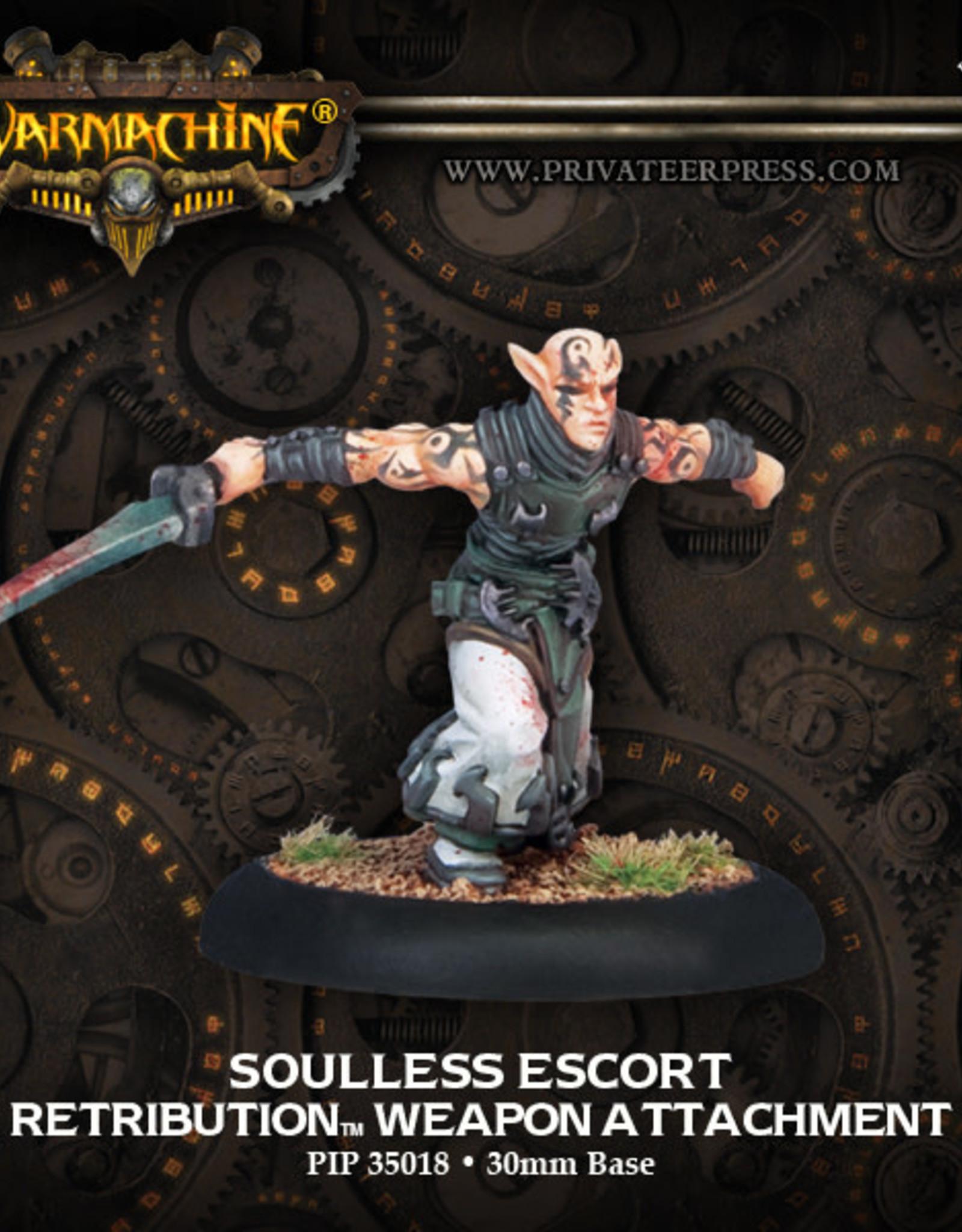 Warmachine Scyrah - Soulless Escort