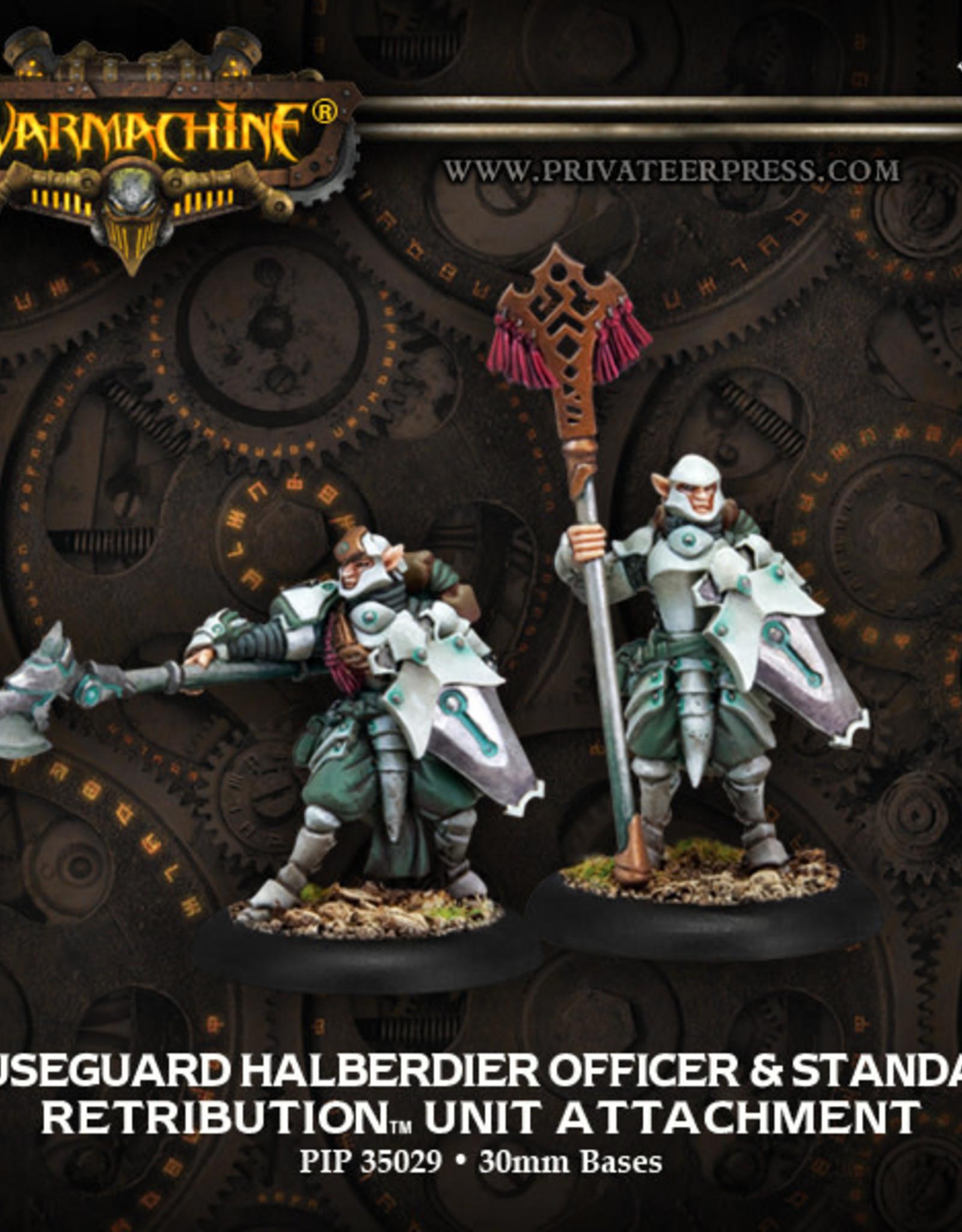 Warmachine Scyrah - Halbedier Officer