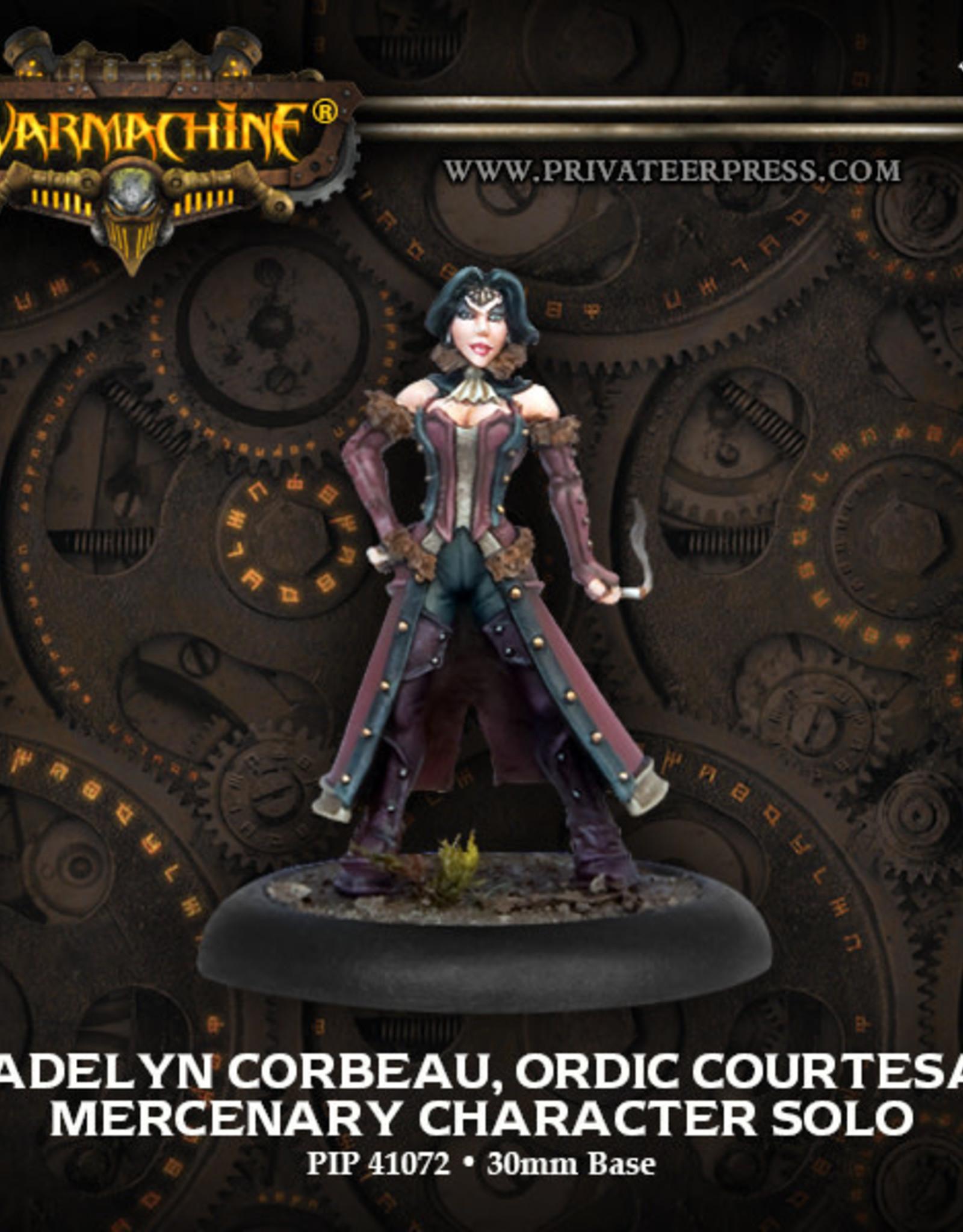 Warmachine Mercenaries - Madelyn Corbeau