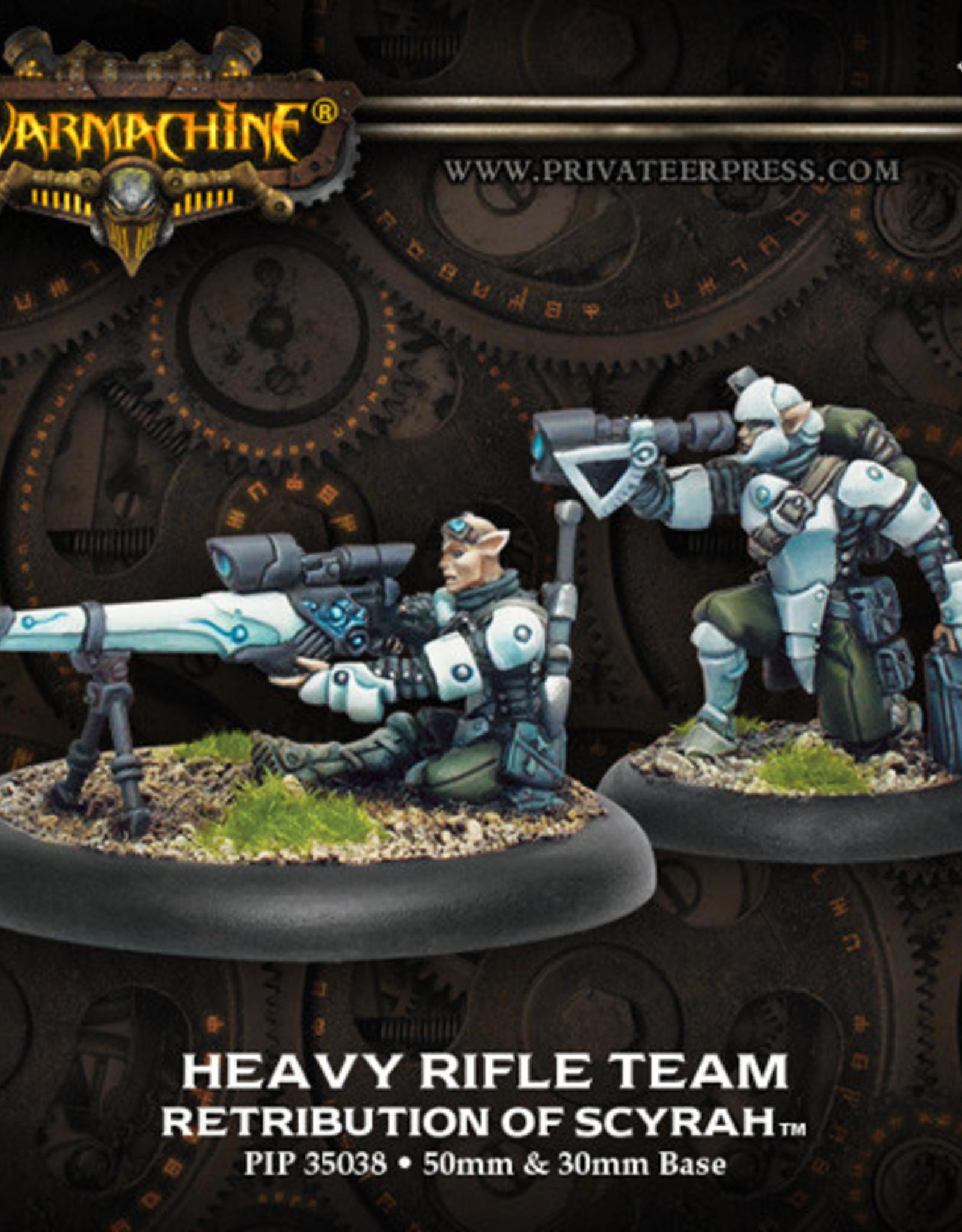 Warmachine Scyrah - Heavy Rifle Team