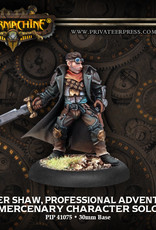 Warmachine Mercenaries - Rutger Shaw