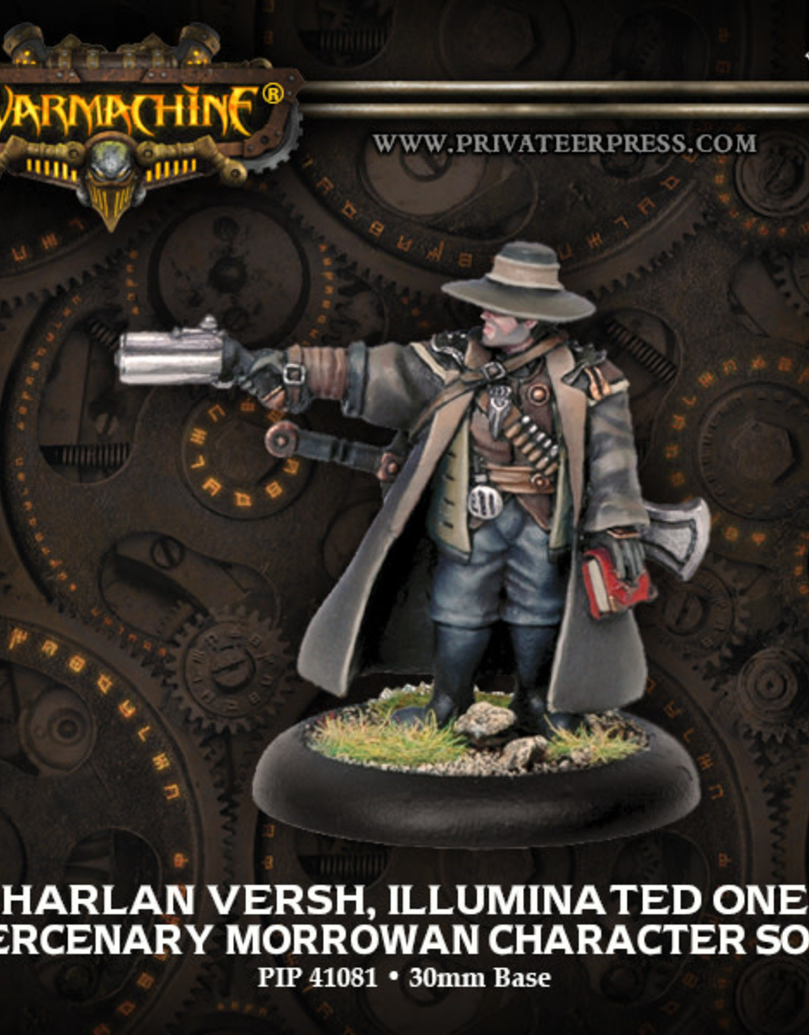 Warmachine Mercenaries - Harlan Versh