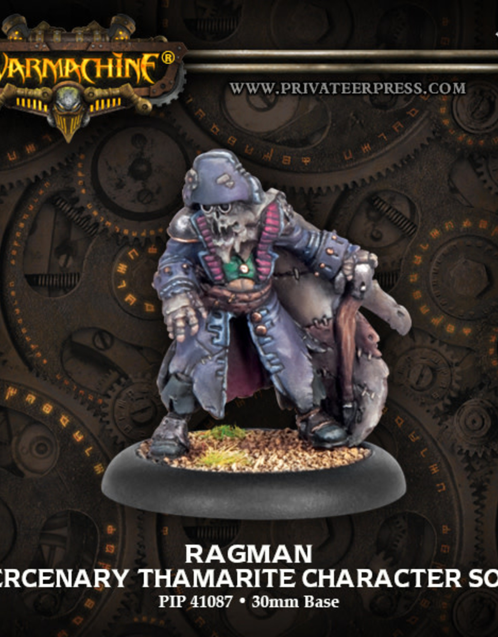 Warmachine Mercenaries - Ragman