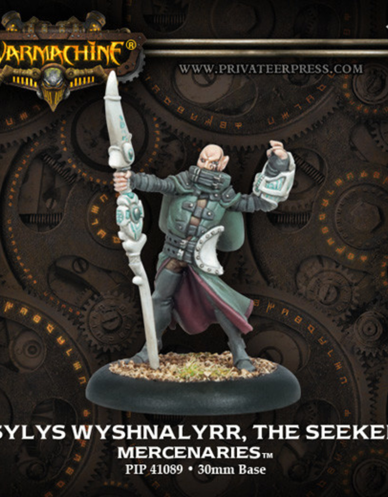 Warmachine Mercenaries - Sylas Wyshnalyrr