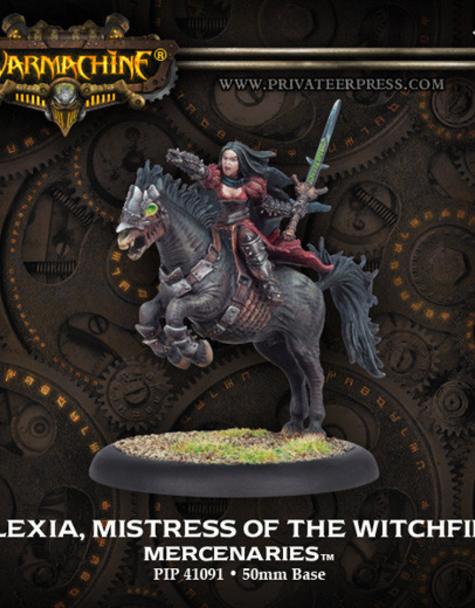 Warmachine Mercenaries - Alexia Mistress