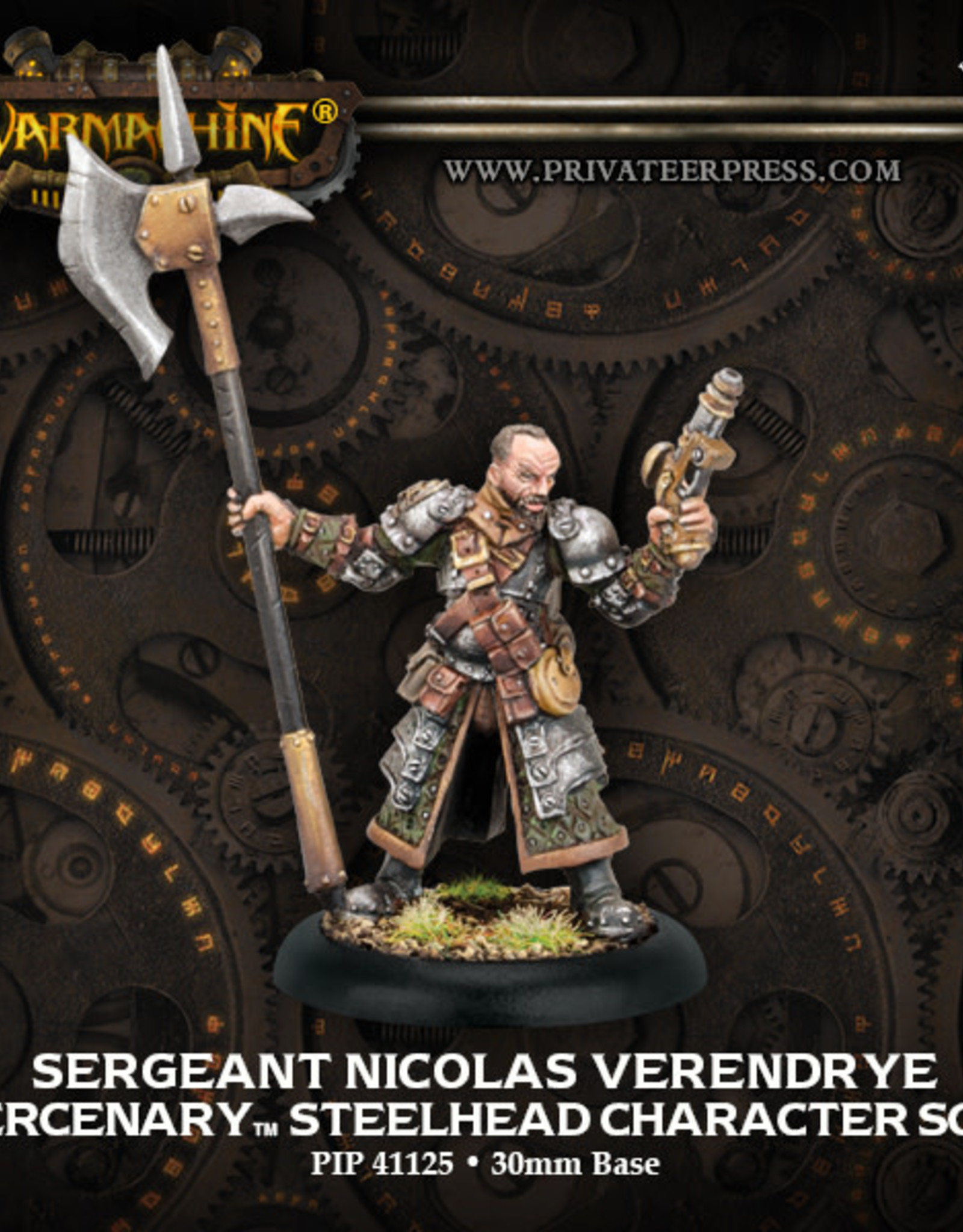 Warmachine Mercenaries - Sergeant Nicolas