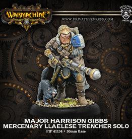 Warmachine Mercenaries - Major Harrison Gibbs