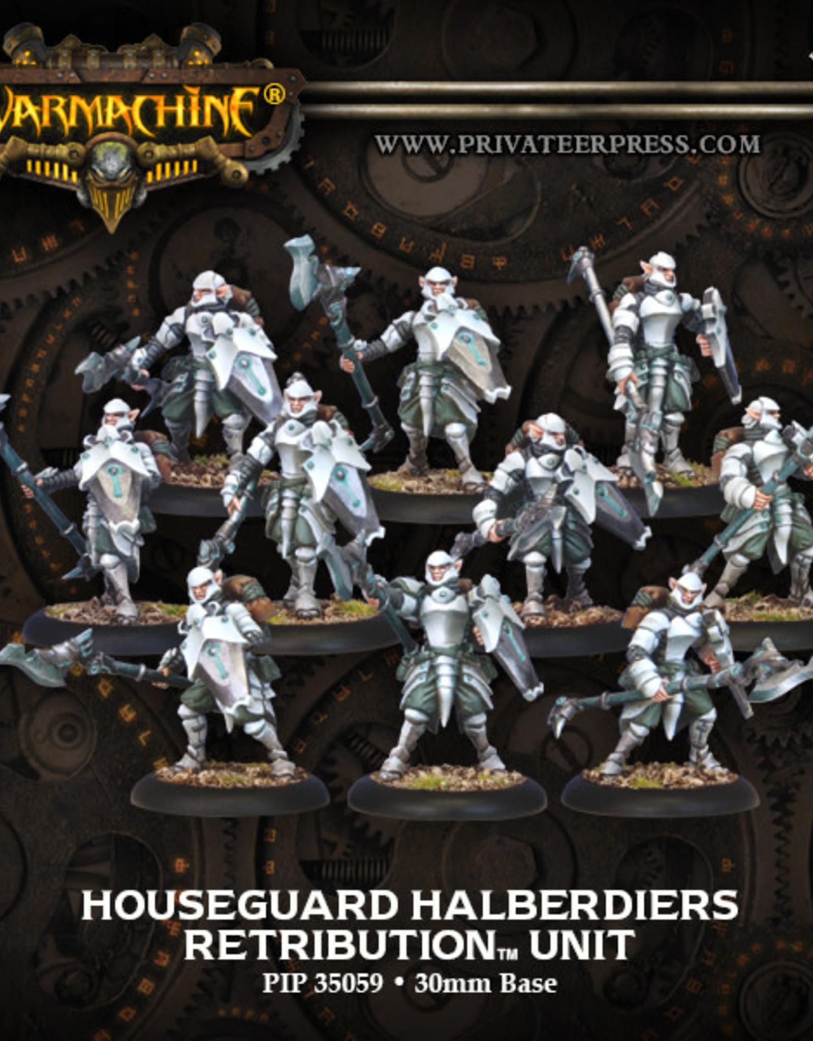 Warmachine Scyrah - Houseguard Halbediers