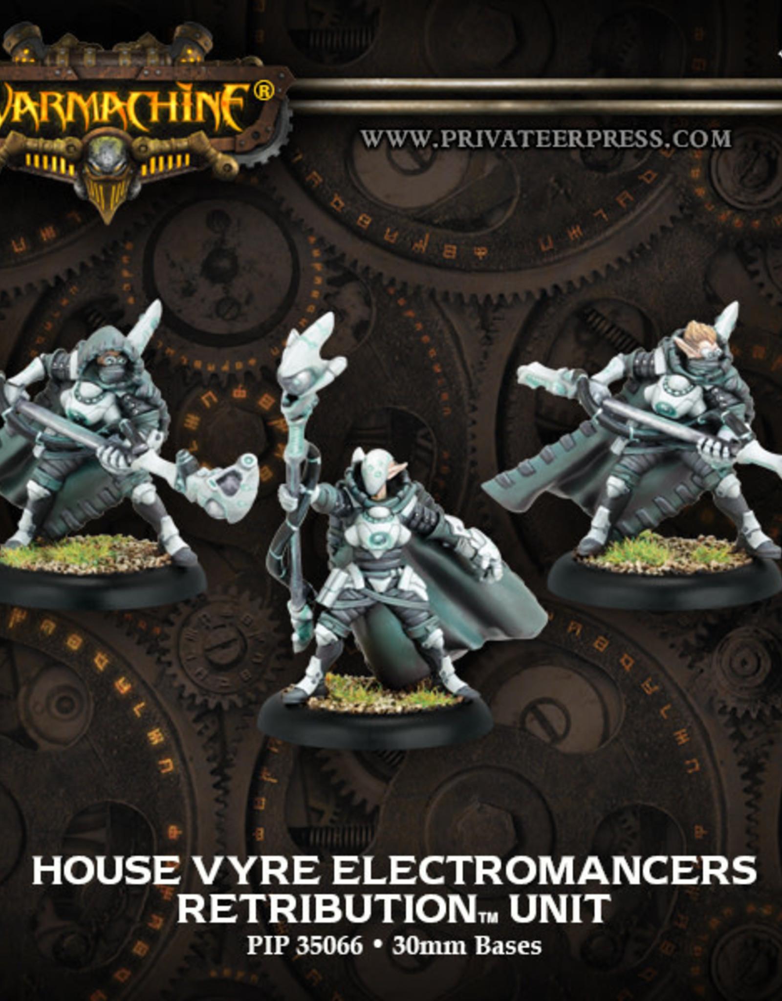 Warmachine Scyrah - Vyre Electromancers