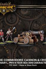 Warmachine Mercenaries - Commodore Cannon