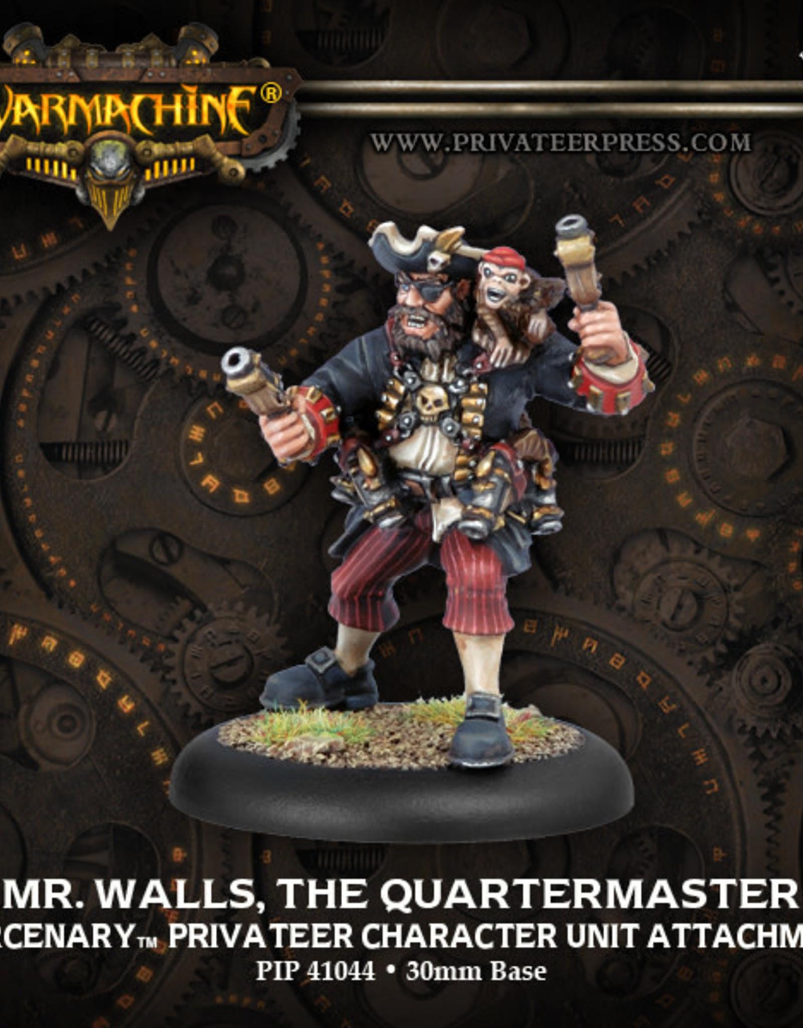 Warmachine Mercenaries - Mr. Walls