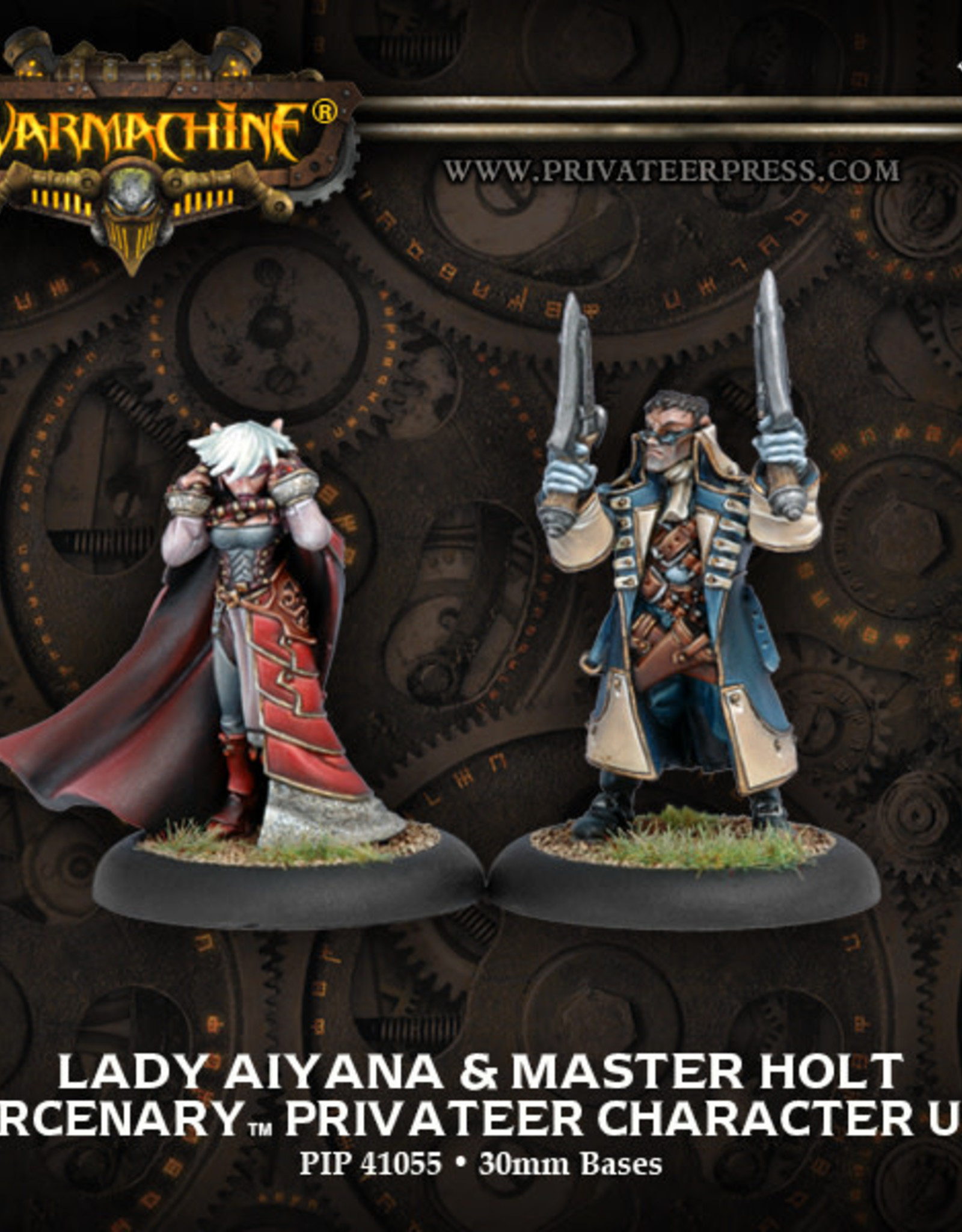 Warmachine Mercenaries Aiyana & Holt