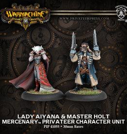 Warmachine Mercenaries Aiyana & Holt